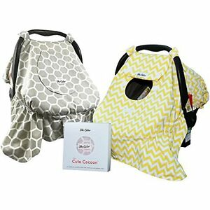 Carseat canopy/bunting bag