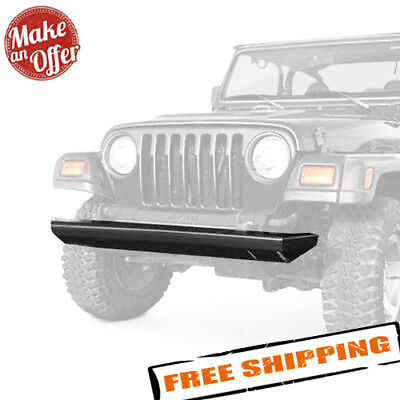"Pro Comp Suspension 66162 1//4/"" Steel Crawler Front Bumper w// D-Rings for Jeep"