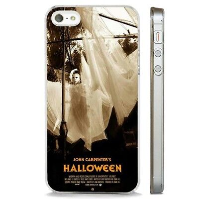 Halloween Michael Myers Horror CLEAR PHONE CASE COVER fits iPHONE 5 6 7 8 X
