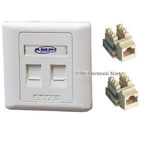 Rj45 Wall Socket Ebay