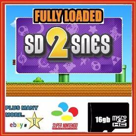 SD 2 SNES - Fully loaded Class 10 Retro SD Card