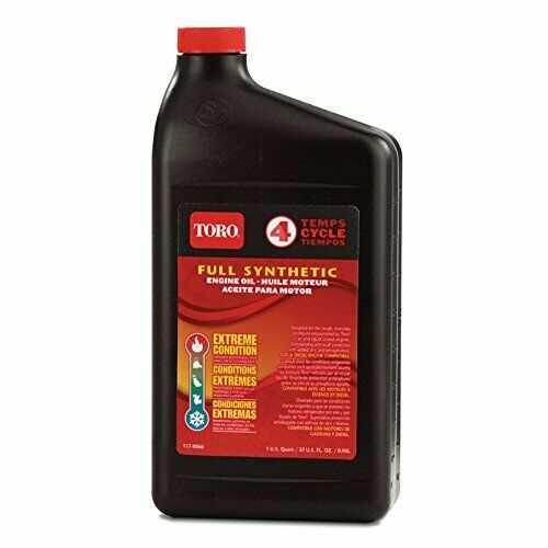 GENUINE TORO 117-0066 138-6053 OIL  FULL SYNTHETIC ALL SEASO