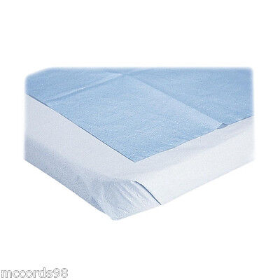 "Medline Disposable Linen Bed Sheets 40"" x 90"" - Qty of 50"