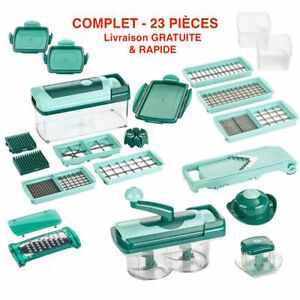 NEW DELUXE NICER DICER 23 PCS. SET NOT FOUND IN N. AMERICA!