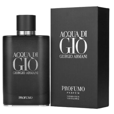 - Acqua Di Gio Profumo by Giorgio Armani 4.2 oz Parfum Cologne for Men New In Box