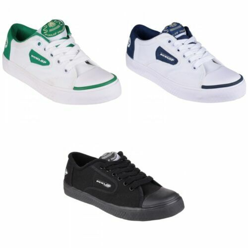 Dunlop Toile Neuf Taille 8 9 10 11 12 13 14 15 Tennis Baskets Pour Homme Chaussures