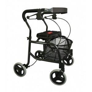 NEXUS Rollator 4 Wheel Walker with basket