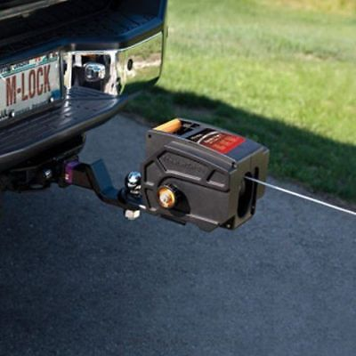 Portable Winch Winches Towing 6000 LBS Vehicle Trailer Boat Car Strong Remote S
