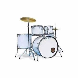 Rock drum kit ASHTON debranded white or black color Baulkham Hills The Hills District Preview