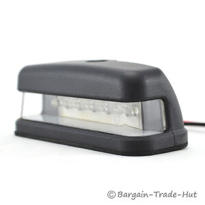 LED NUMBER PLATE LIGHT 10-30volt FOR TRAILER