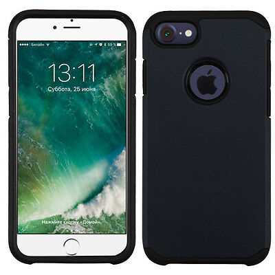 - Black/Black Astronoot Phone Protector Cover for APPLE iPhone 8/7