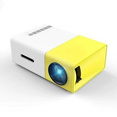 Mini Projector, Meer YG300 Portable Pico Full Color LED LCD Video Projector for