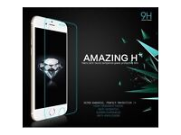iPhone 5 6 7 tempered glass screen protector new