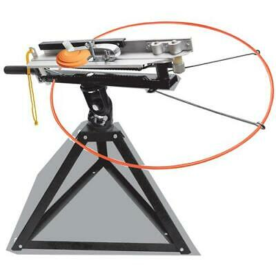Full Cock Trap Launcher Do All Thrower Clay Shooting Targets Single Doubles