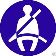 Seat Belt Stickers