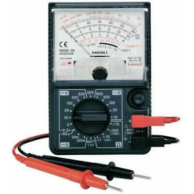 Hioki 3030-10 Hitester Basic Analog Tester Multimeter Testing Measurement