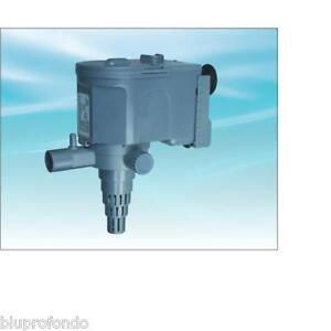 Sunsun hj 1121 pompa sommersa per acquario acquari 1400 lt for Pompa x acquario