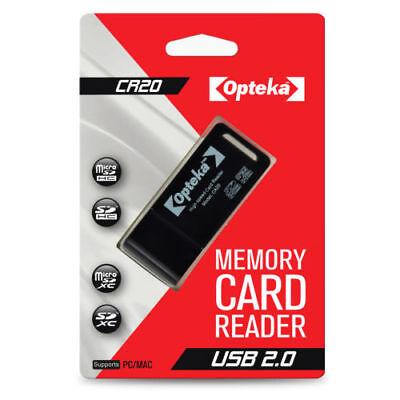 Opteka USB 2.0 SD Memory Card Reader