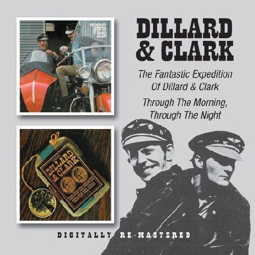 Dillard & Clark - Fantastic Expedition of Dillard & Clark / Through [New CD] Rms