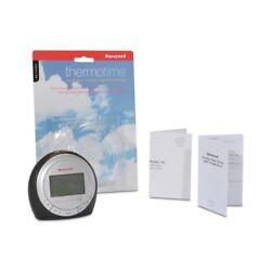 Honeywell RC182WS Atomic Alarm Clock - Indoor Tempurature, Self-Setting Clock, B
