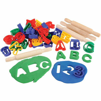ABC & Numbers Dough Cutter -