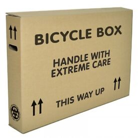 Extra Large Bicycle Cardboard Box Shipping Hybrid Road Mountain Bike