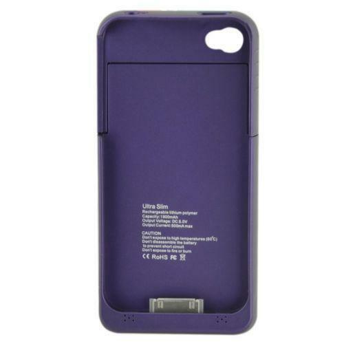iphone 4 battery charger case ebay. Black Bedroom Furniture Sets. Home Design Ideas