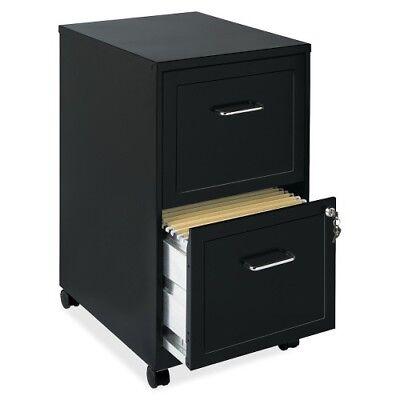 Lorell Soho 18 2-drawer Mobile File Cabinet - 14.3 X 18 X 24.5 - 2 X