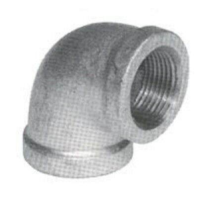New Bk 4 Inch Galvanized Pipe Threaded 90 Elbow Fitting Plumbing 8450306