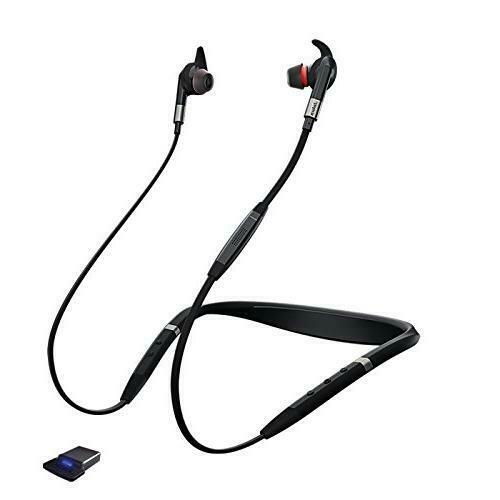 AUTHENTIC Jabra Evolve 75e Wireless Bluetooth Earbuds w/ USB Adapter OUT OF BOX