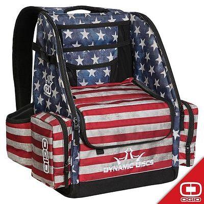 **NEW** Dynamic Discs Commander Disc Golf Backpack Bag - Stars and Stripes