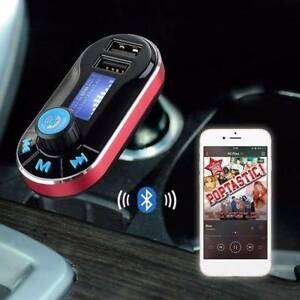 Bluetooth Car Kit MP3 Player FM Transmitter SD USB Charger For iP Melbourne CBD Melbourne City Preview