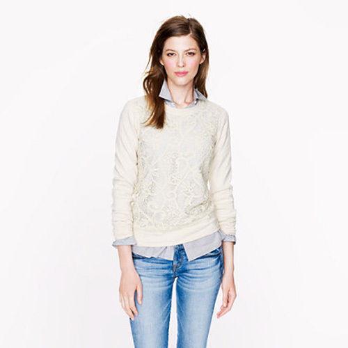J crew sweatshirt women 39 s clothing ebay for Jcrew com