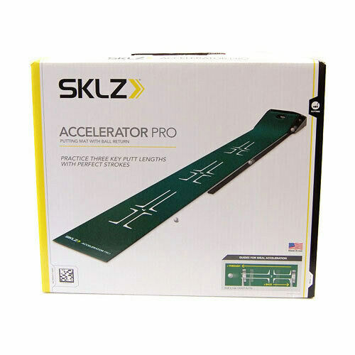 SKLZ Accelerator Pro Portable Putting Mat / Putter Training