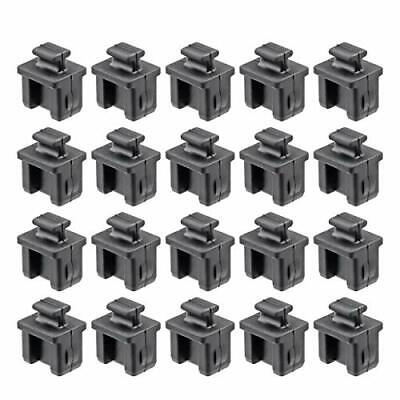 TOPPROS Pack of 20 SFP Silicone Protectors Cap Port Cover Anti Dust 0.55 x 0....