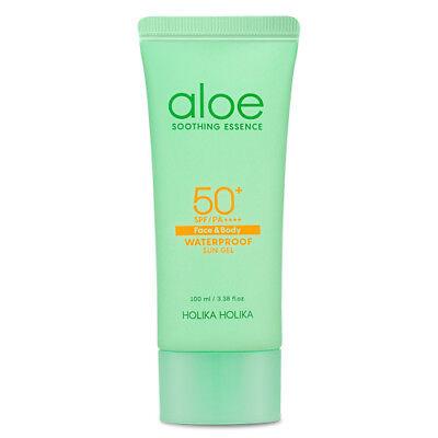 [Holika Holika] Aloe Waterproof Sun Gel SPF 50+ PA++++ / Korean Cosmetic