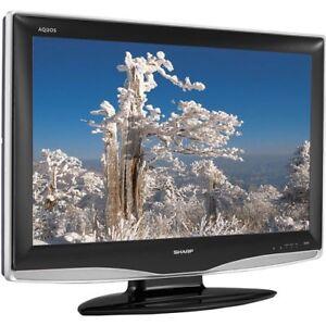 PERFECT COND SHARP AQUOS FLATSCREEN HDTV