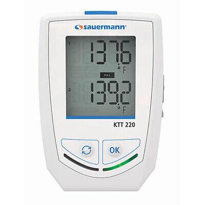 Sauermann Ktt 220-o Multi-function Thermocouple Data Logger Wdisplay