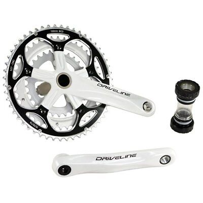 Road Bike Crankset Mighty 52-42 Teeth CT 170 mm Crank 2x9 Silver 06202
