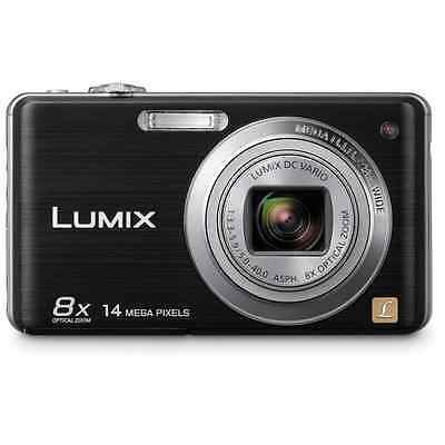 Panasonic Lumix DMC-FH20, 14MP Digital Camera (Black) Open Box