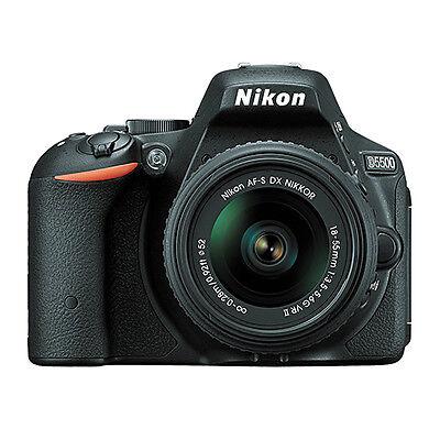 Nikon D5500 Digital SLR Camera + AF-S NIKKOR 18-55mm f/3.5-5.6G VR DX Lens