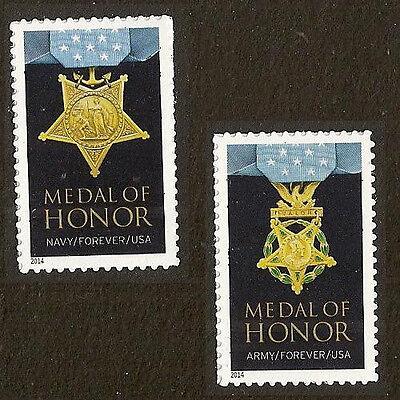 US 4822a-4823a Medal Of Honor Korean War Forever Set MNH 2014 - $2.29