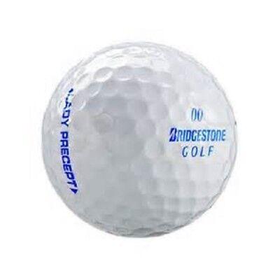 50 Bridgestone Precept Lady White AAA+ Used Golf Balls for sale  Delta