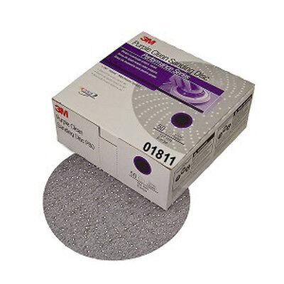3m Purple Clean Sanding Hookit Disc 6 P400 Grit 50 Discs 01811