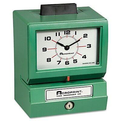 Acroprint Model 125qr4 Manual Time Clock - 011070413