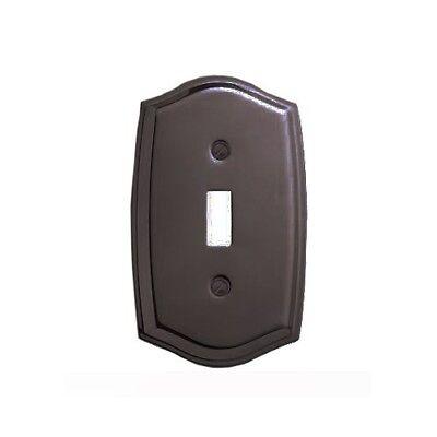 Baldwin 4756.112.CD Colonial Design Single Toggle Switch Plate, Venetian Bronze ()
