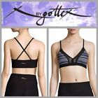 Striped Sexy Yoga Activewear Tops for Women