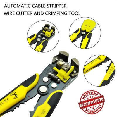 Electrical Auto Wire Cutter Stripper Plier Cable Crimper 8 Inch