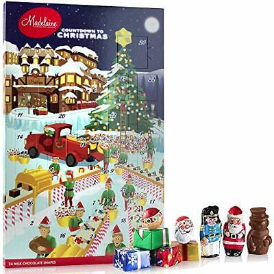 Madelaine Chocolates Santa's Workshop Christmas Countdown Advent Calendar, Fille