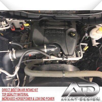 """2009-2012 DODGE RAM 1500 LARAMIE SXT 5.7L V8 HEMI AIR INTAKE 3.5"""" PIPE  KIT"""